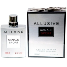 "Парфюмерная вода Fragrance World ""Allusive Canale Sport"", 80 ml"