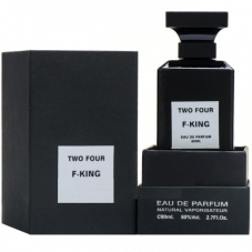 "Парфюмерная вода Fragrance World ""Two Four F- King"", 80 ml"