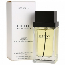 "Carolina Herrera ""Chic For Men"", 100 ml (тестер)"