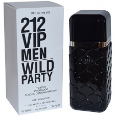 "Carolina Herrera ""212 VIP Men Wild Party"", 100 ml (тестер)"
