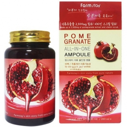"Сыворотка для лица FarmStay ""Pomegranate All-In-One Ampoule"", 250ml"