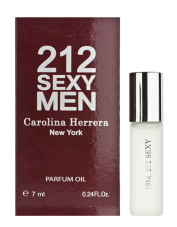 "Carolina Herrera ""212 Sexy Men"" с феромонами (7 ml)"