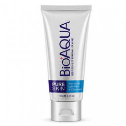 "Пенка для умывания от BioAqua ""Pure Skin Anti Acne-light Print & Cleanser"", 100g"
