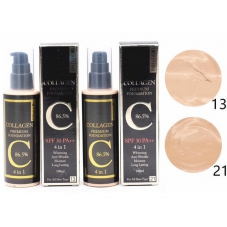 "Тональный крем Privia U ""Collagen Premium Foundation 4 in 1"", 100ml"