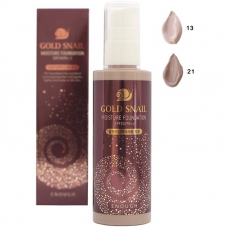 "Тональный крем Enough ""Gold Snail Moisture Foundation"", 100ml"