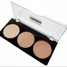 Хайлайтер Miss Rose Glow Kit High-Lighter 3 в 1