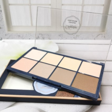 Универсальная палетка Davioo Cosmetics Contour + Highlighter