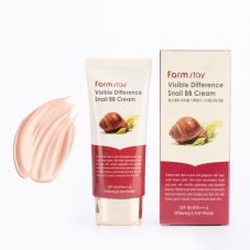 ББ крем Farm Stay Visible Difference Snail BB Cream SPF 50 PA++, 50g