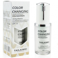 Тональная основа-флюид TLM Foundation Color Сhanging, 30 ml