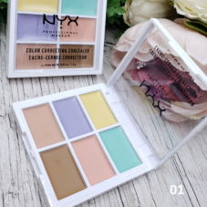 Консиллер Nyx Color Correcting Palette 6 в 1