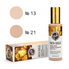 "Тональный крем Enough ""Rich Gold Double Wear Radiance Foundation"", 100g"