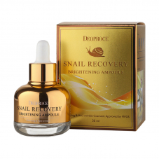 Ампульная сыворотка Deoproce Snail Recovery Brightening Ampoule, 30ml